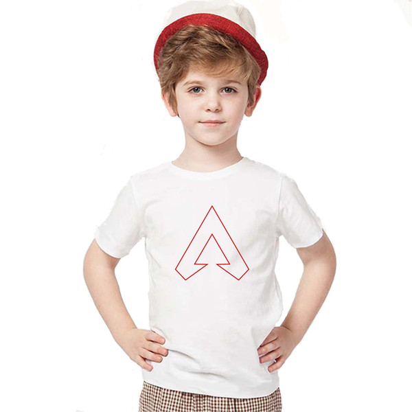 Apex Legends Kids T-shirts children Short Sleeves Tees Shirt O-neck Tops cartoon 3d printed T-shirt home casual clothing 19styles GGA1724