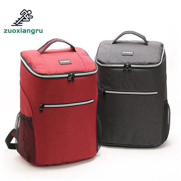 20l Picnic Bag Outdoor Camping Backpack Thermal Lunch Bags Oxford Cooler Refrigerator For Women Kids Thermal Bag Lunch Box