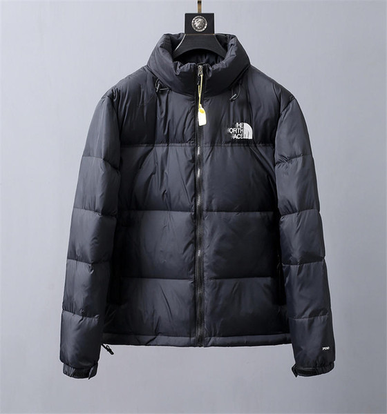 2019 the north 1face 1996 retro nuptse down jacket hooded winter coat down jackets men's deptford down jacket in black