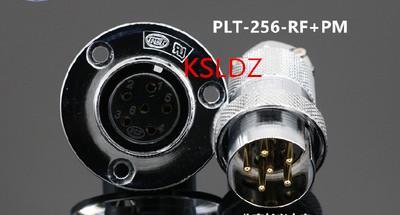top popular Free shipping lot (1 pieces lot)original New PLT APEX PLT-256-RF+PM PLT-256-RF-R PLT-256-PM-R 6PINS Aviation Plug and Socket Connect 2021