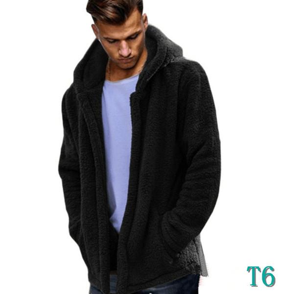 Mode Hommes Veste Manteau Automne Hiver Nouveau Modèles Vêtements Streetwear Survêtement Hommes Polaire à capuche Veste 3 Couleur disponible Taille S-3XLT6