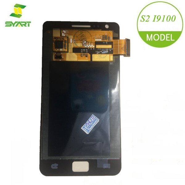 SYART 100% Tested Well For Samsung Galaxy S2 I9100 LCD Display With Touch Screen Digitizer Assembly Replacement Parts + Tools