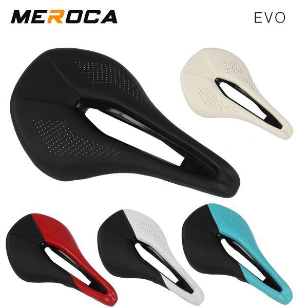 MEROCA EVO mountain bike road bike seat saddle hollow big butt seat ultra light comfort
