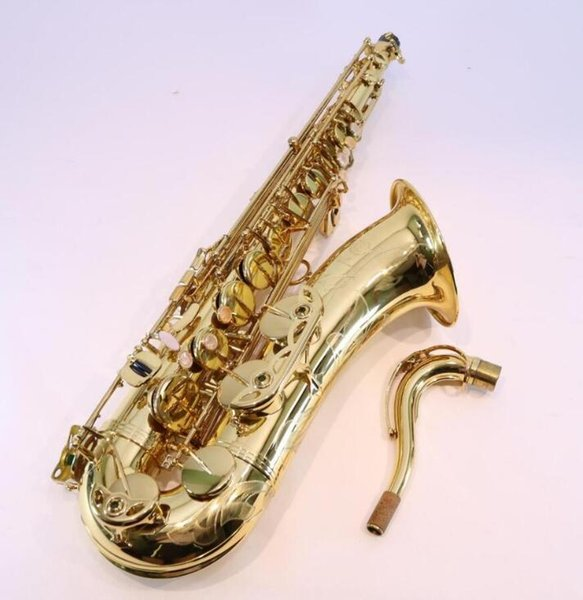 Reference 36 Tenor Saxophone SN ONDITION Gold Lacquer Jazz Instruments B Flat Brass Sax with mouthpiece case gloves,reeds