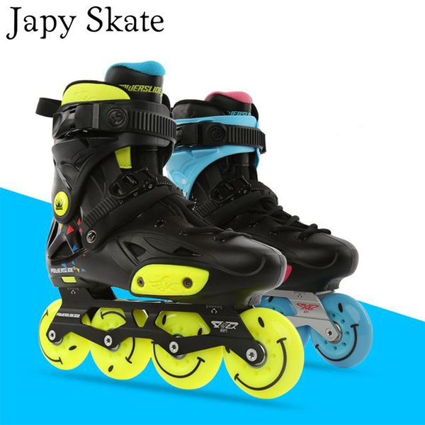 Japy Skate Original 2014 Powerslide Imperial Hawk Patins à roues alignées Adulte Roller Chaussures De Patinage Coulissante Patinage Patinage Gratuit
