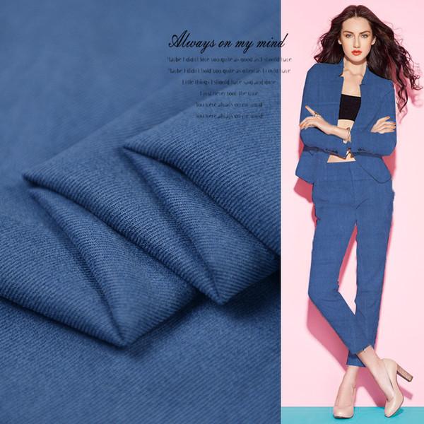Ağır 100% Ipek Kum Yıkama Kumaş Kadınlar için Elbise Ceket 114 cm Geniş Iplik Boyalı Moda Kumaş Diy Dikiş için 19 Bahar Satış Sıcak