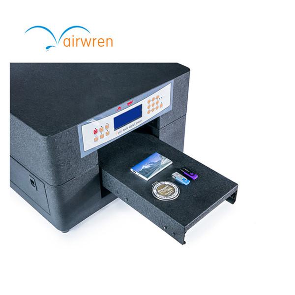 China O mais novo Impressora UV de cartão de máquina de impressão UV de grande formato AR-LED Mini4