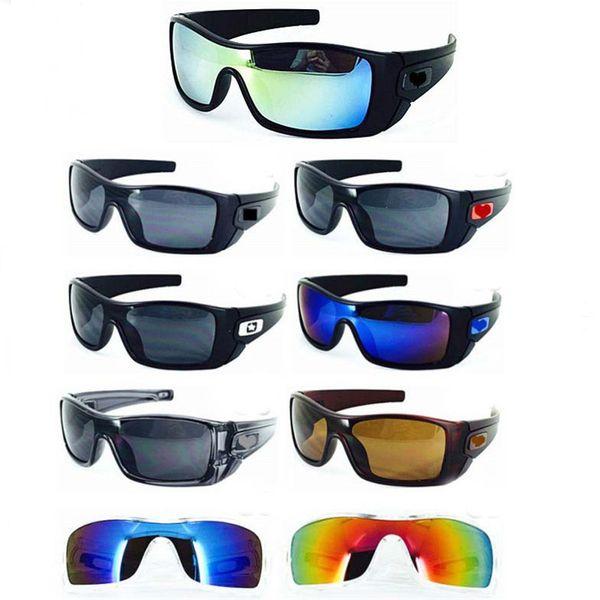 brand new sunglasses women driving galss goggles cycling sports dazzling eyeglasses men reflective coating sun glass