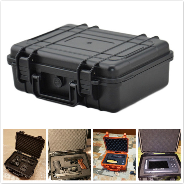 Outdoor Waterproof Dry Box Portable Shockproof Sealed Safety Case ABS Plastic Tool Box Safety Equipment Instrument Storage