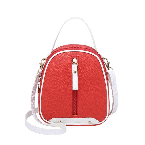 New Summer Fashion Women Backpack Mini Soft Touch Multi-Function Small Backpack Female Shoulder Bag Girl Purse Phone Pouch Pack