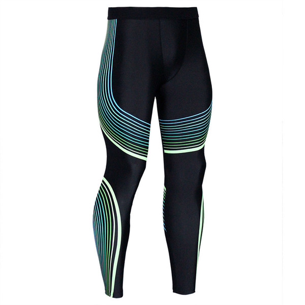 Men Pants 2019 New Compression Pants Brand Clothing Base Layer Tights Exercise Fitness Long Leggings Trousers Leisure Pants Man