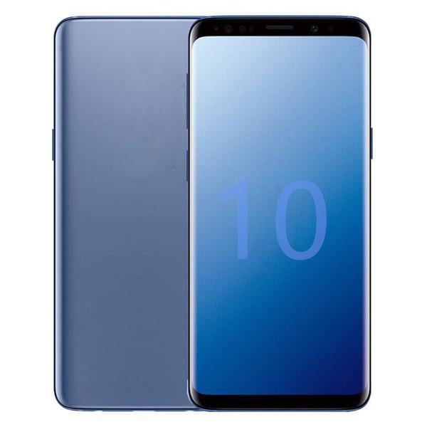 Goophone 10 plus Unlocked Smartphone quad core 1G ram 8G rom 6.2inch full Screen Show 512GB show 4g lte Cellphone