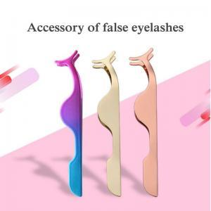 3 estilos de Aço Inoxidável Pestana Falso Pestana cílios Lash Pinça Falso Eye Lash Applicator moda lady Maquiagem Ferramenta FFA1454