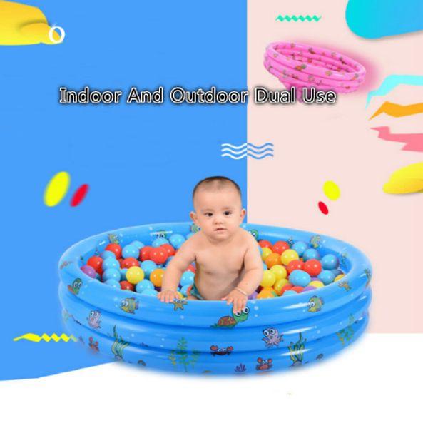 Piscine gonflable d'été de bébé, piscine gonflable d'enfants de piscine de bébé d'utilisation de maison de baignade de bébé piscine gonflable d'enfants