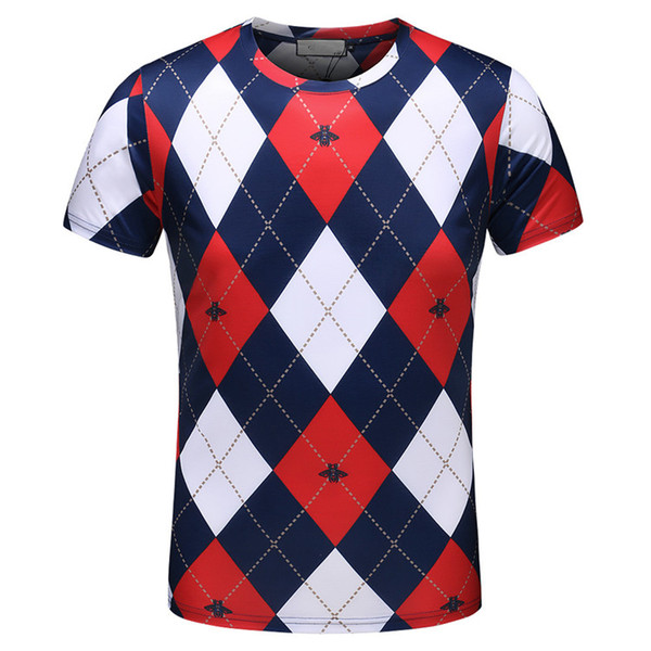 New Luxury men's wear designer t-shirts, summer and fall t-shirts, stylish pink men's polo, outdoor sports monogram short sleeves