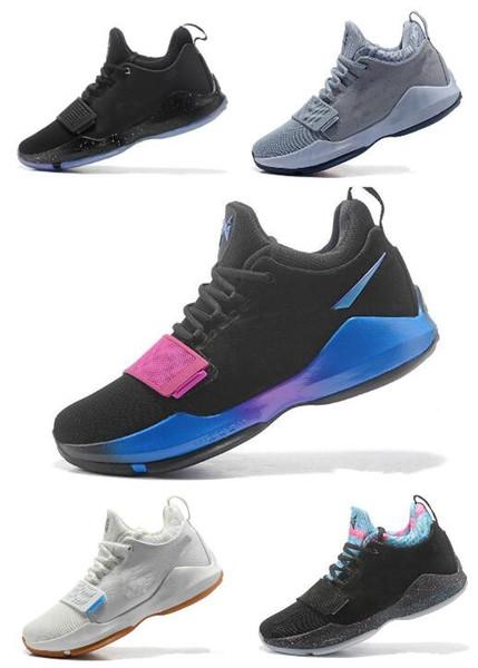 (con la caja) 2019 zapatos de baloncesto de alta calidad PG1 Shining Ferocity zapatos de baloncesto de los hombres baratos venta PG 1 hombres zapato deportivo Sneaker 40-46
