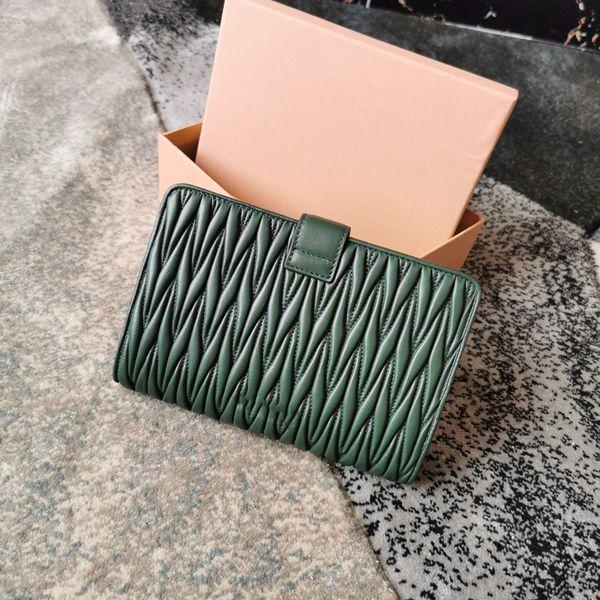 Portafogli di design di lusso portafogli 19 lettera houndstooth lettera portafogli donna portafogli da donna in vera pelle