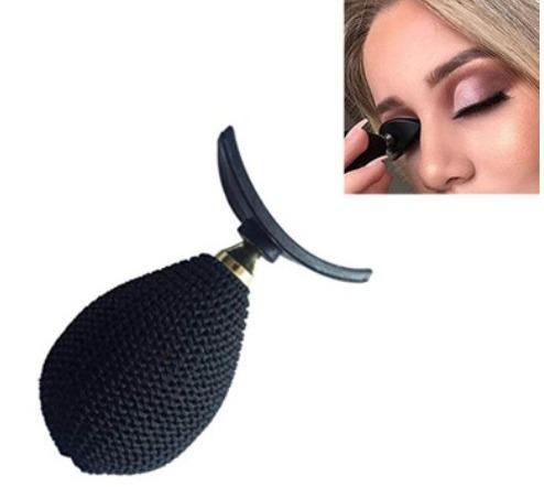 Fabrik DHL Freies Verschiffen Lidschatten Stempel Falte Ein Schritt Augen Make-Up Schatten Stamper Kosmetische Einfach Zu Make-Up Flügel Stil Stempeln Schablone Werkzeug