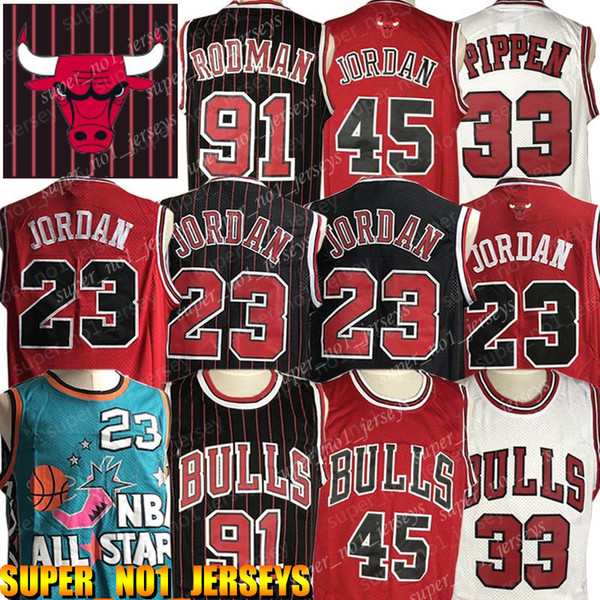 top popular NCAA Chicago Jersey Bulls 23 Michael Jersey MJ Coby White 91 Dennis Rodman Jersey 33 Scottie Pippen Jerseys College Basketball 2019