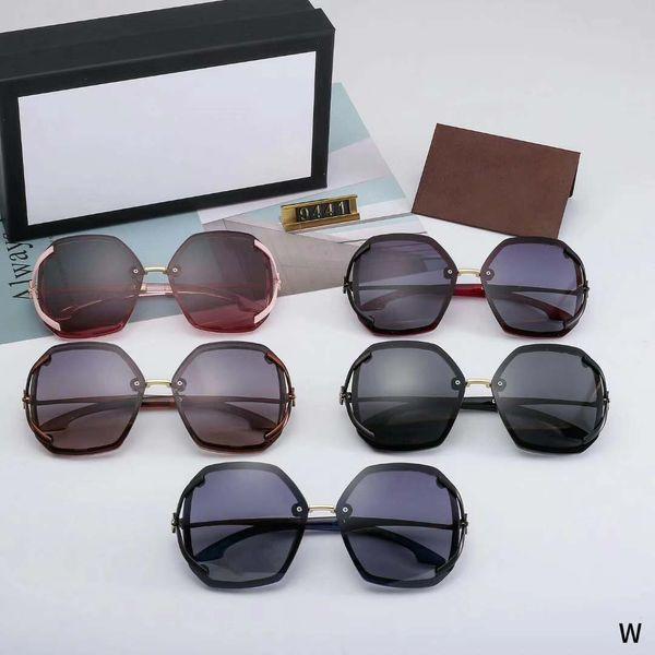 9441 последние продажи популярных мужчин моды дизайнер солнцезащитные очки металлическая пластина комбинированная оправа высокого качества анти-UV400 объектив с коробкой