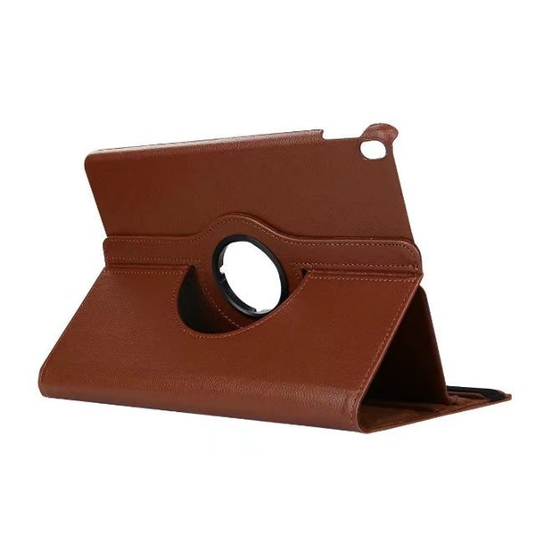 2019 new arrival color for ipad 6 case Litchi grain PU leather tablet case 360 rotating flip stand for Ipad case