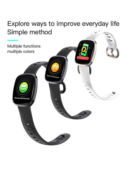 GT103 Relógio Inteligente IP67 À Prova D 'Água Wearable Monitor de Freqüência Cardíaca Do Monitor de Cor Display Esporte Inteligente Wirstband Para Android IOS