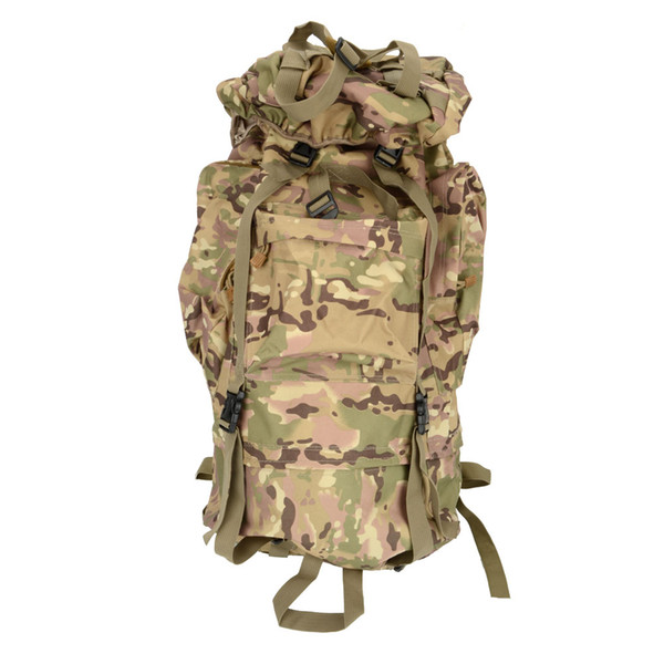 65L Waterproof Outdoor Tactical Backpack Camouflage Color