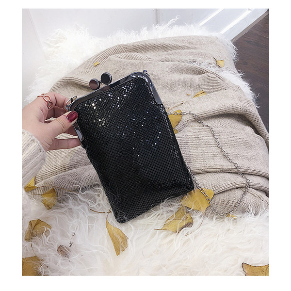 2019 fashion Chinese style Denim shoulder cross body purse Flap bags letters colorful gems Jewels Daidai/2