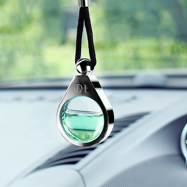 Car Freshener liga Perfume pendurado pingente Automobiles Interior scent Air Cleaner Air Freshener nos acessórios do carro