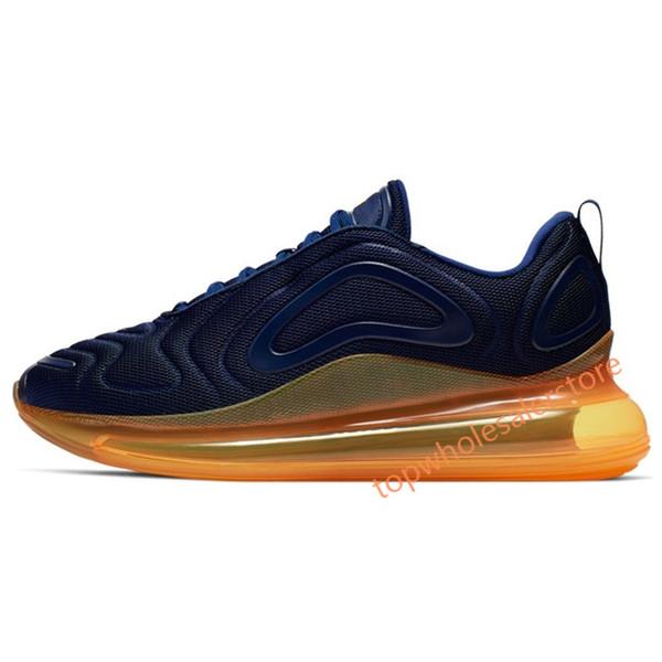 12 Midnight Navy Laser Orange