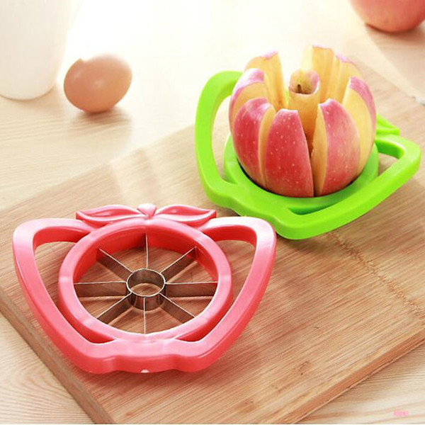 top popular Kitchen Gadgets Stainless Steel Corer Slicers Shredders Easy Cutter Cut Fruit Knife Cutter For Apple Pear Go Nuclear Splitter DBC BH3043 2020