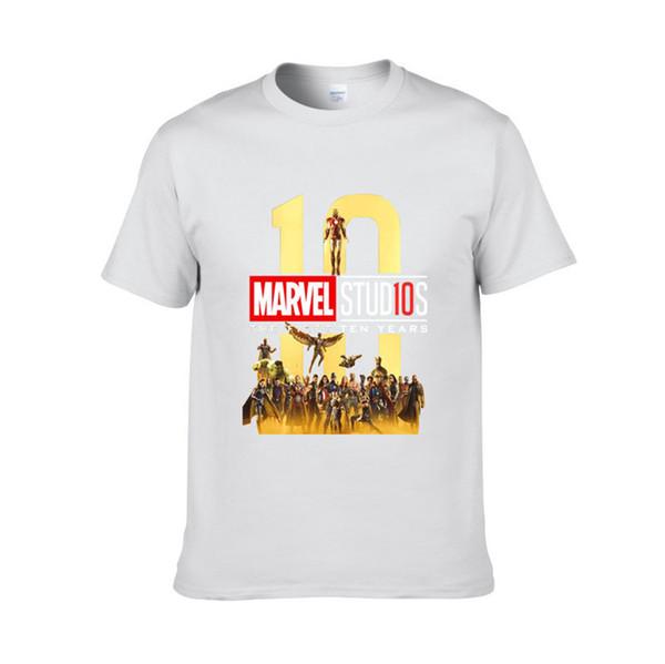 Бесплатная доставка Новая Мода MARVEL футболка мужчины хлопок с короткими рукавами Повседневная мужская футболка marvel футболки мужские топы тройники H5