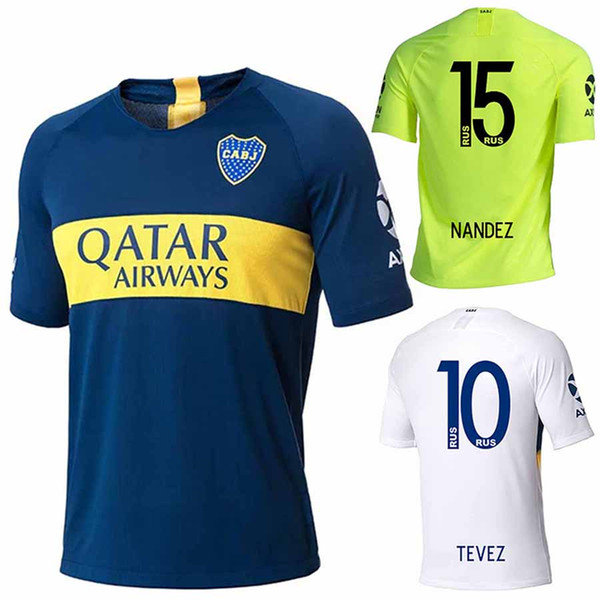 huge discount cda0e 9063d 2019 Thailand 2018 2019 Boca Juniors Soccer Jerseys 18 19 GAGO TEVEZ  CARDONA BENEDETTO Football Shirt Boca Junior PAVON Camisetas De Futbol From  ...
