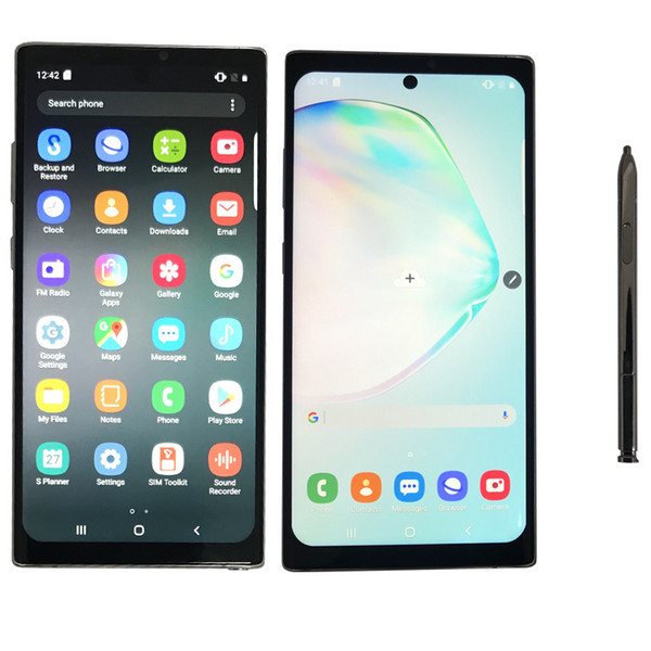 NOT 10+ Goophone NOT 10 Plus 6.8 Inch Goophone with Face ID WCDMA 3G Quad Core Ram 1GB ROM 16GB Android 9.0 Camera 8.0MP Show 5g 512GB 12GB