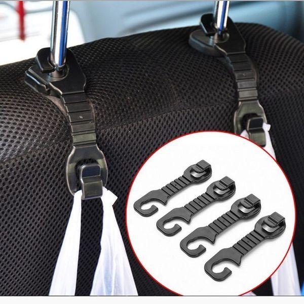 2-10PCs Universal Car SUV Durable High Quality Practical Organizer Hanger Back Seat Headrest Hanger Storage Hook For Bag Handbag