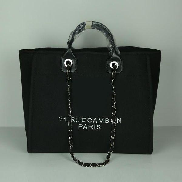 Fashion women big capacity tote bag designer womens handbags lady famous canvas bags purse ladies shoulder bag big size 47cm