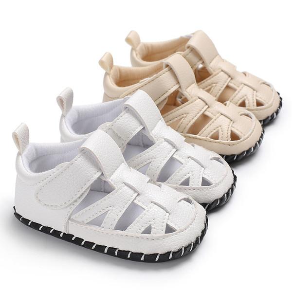 2019 nouvel été garçon bébé 0-1 semelle en caoutchouc pied antidérapant bébé chaussures bébé livraison gratuite