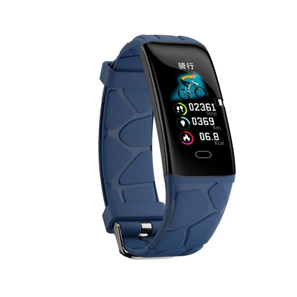 E58 Color screen Smart bracelet Watch band Bluetooth Waterproof Heart rate Blood pressure Sleep monitoring multi-sports mode Shake Swimming
