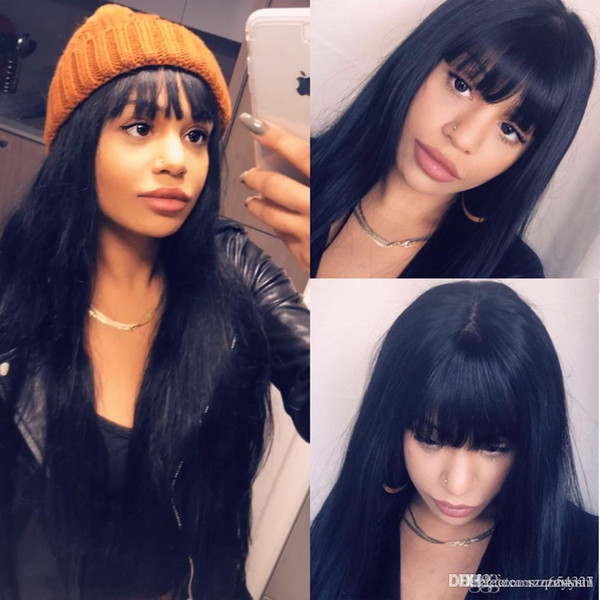 New style Fashion Long Curly Wavy Wigs Cosplay women's Girl Hair Full Wig Party Wigs With Bangs For Black Women
