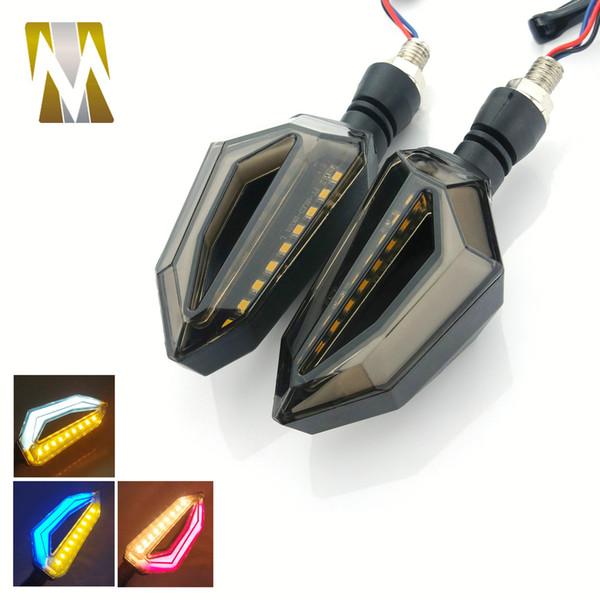 Motocicletta modificata motocicletta della luce di segnale di girata universale 12V LED con 8 millimetri Vite Bolt Super Bright Buona qualità