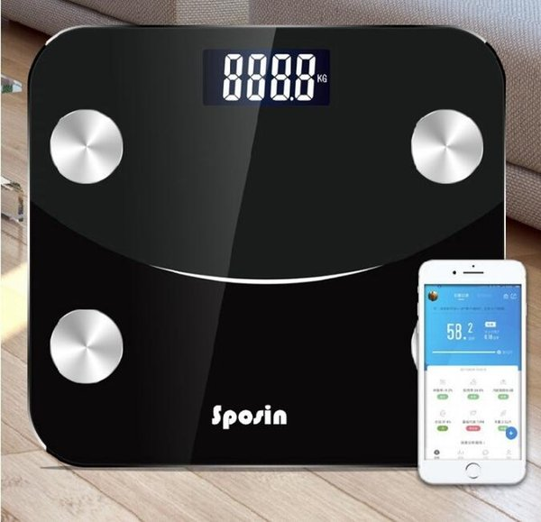 Body Fat Weighing Household Electronic Weight Scale New Type of Human Female Intelligent Battery Bathroom Scales free shipping
