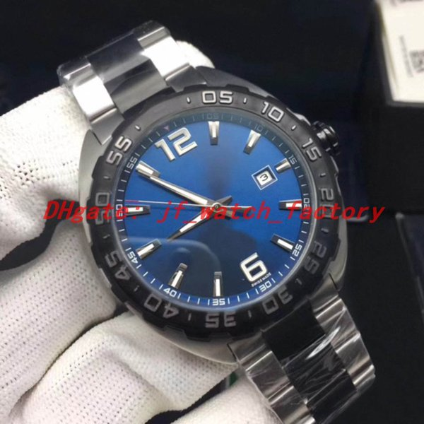 Two-tone steel strap (blue dial)