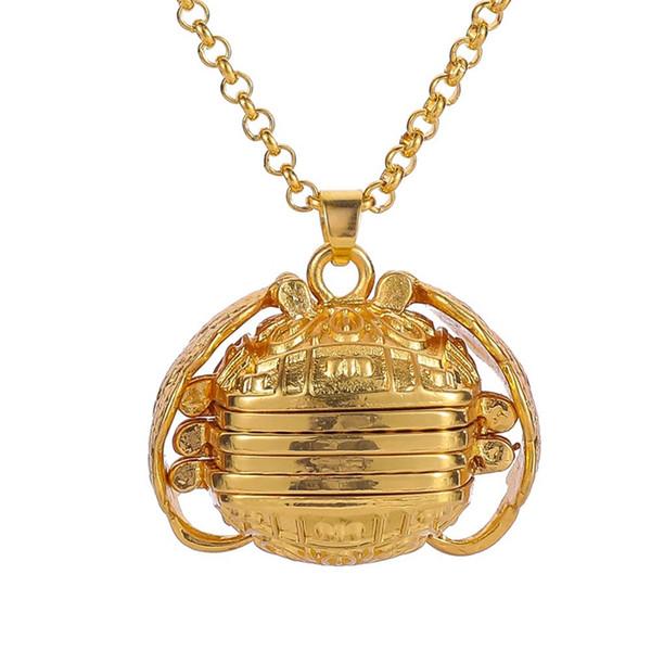 Neue design Gold Silber Farbe Engelsflügel Foto Anhänger Speicher Schwimm Medaillon Halskette Box Album Box Halsketten Geschenk 2019