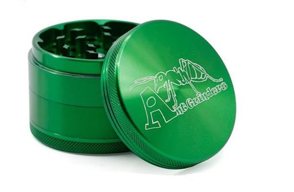30 40 50 55 63 75mm grinders alliage d'aluminium Moulin à tabac broyeurs de couleur multiple avec ant logo vs sharpstone OEM de support Grinder