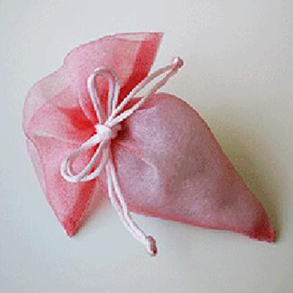 розовый около 18x15. 5 см