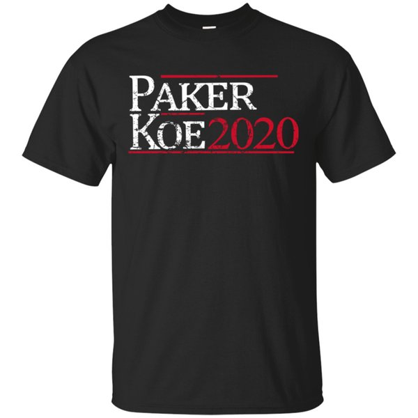 Parker Koe 2020 T-Shirt Black for Men-Women