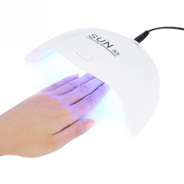 top popular Tamax New Arrival SUN X3 24W UVLED Lamp Nail Dryer Curing for Nail Gel Polish Drying Machine nail art tool 2021