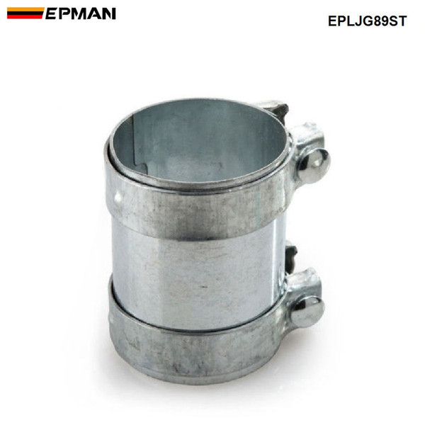 """EPMAN- New Car Styling 3.5""""Exhaust Connector Coupler 304 SS Front Adapter Pipe Tube Joiner 89mm EPLJG89ST"""