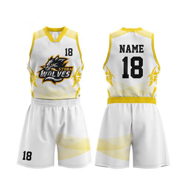 New Design Youth Cheap College Basketball Jerseys 2019 Men Boys Breathable Custom Basketball Uniforms Shirts Shorts jersey Set