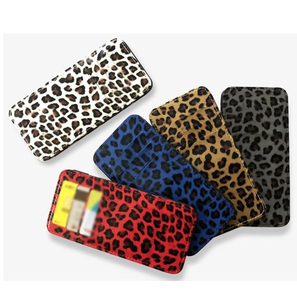 2019 Fashion Leopard Women Wallet Ladies Flip Wallet Thin Card Package Capacity Casual Purse